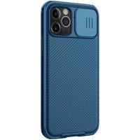 Бампер iPhone 12/12 Pro Nillkin CamShield Pro Case Синий