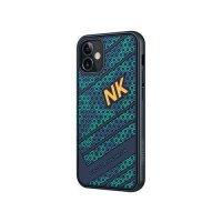Бампер iPhone 12/12 Pro Nillkin Striker Case Соты Зеленый