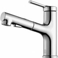 Смеситель для раковины с душем Xiaomi Diiib Extracting Faucet  Серебро