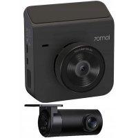 Видеорегистратор 70mai Dash Cam A400 Car Recorder + Rear Cam Set (EU) Серый