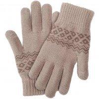Перчатки Xiaomi Touchscreen Winter Wool Gloves Бежевый