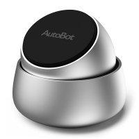 Магнитный держатель для автомобиля Xiaomi AutoBot Q magnetic phone  holder Серебро