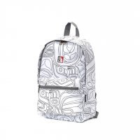 Рюкзак Xiaomi INUK White Graffiti Backpack Small