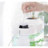 Аквариум Xiaomi Descriptive Geometry Amphibious Fish Tank + Humidifier  (HF-JHYGZH001) Белый