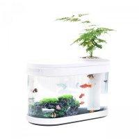 Аквариум Xiaomi Descriptive Geometry Fish Tank Aquaponics Ecosystem (HF-JHYG001)