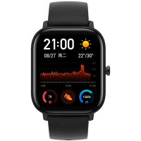 Умные часы Xiaomi Huamii AmazFit GTS (Чёрный)
