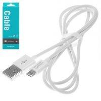 Кабель - USB to Micro USB - Nillkin 1м 5V 2.1A (Белый)
