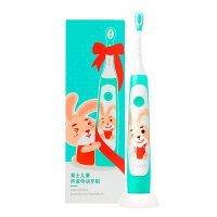 Детская электрическая зубная щетка SOOCAS Kids Sonic Electric Toothbrush (C1) (Зелёная)