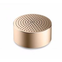 Портативная аудио колонка Xiaomi Mi Mini Round Speaker Золото