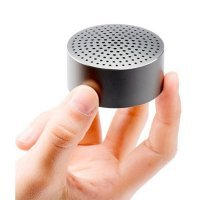 Портативная аудио колонка Xiaomi Mi Mini Round Speaker Серая