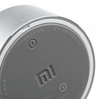 Портативная аудио колонка Xiaomi Mi Mini Round Speaker (Серебристая)