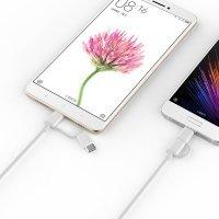 Кабель 2in1 USB/Micro/Type-C Xiaomi ZMI 100см (AL501) Белый