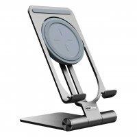 Держатель для телефона+Зарядка Nillkin PowerHold Mini Wireless Charging Stand (NKT01) Серый