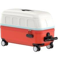 Чемодан детский Xiaomi Juvenile Small Bus ride Trolley Case Красный