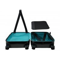 Чемодан Xiaomi 90 Points Suitcase-Iceland 24 (110704) Черный