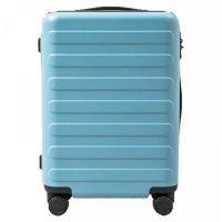 Чемодан Xiaomi 90 Points Seven Bar Suitcase Flower Series 20 Серо-Голубой