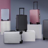 Чемодан Xiaomi UREVO You Kai Travel Suitcase Seine 20 Серебристый