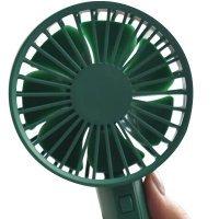 Вентилятор ручной Xiomi VH с аккумулятором и USB Зеленый