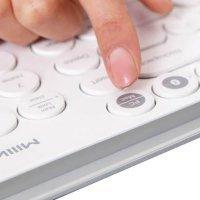 Клавиатура Xiaomi MiiiW Dual-mode Keyboard MWBK01 Белый