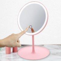 Зеркало для макияжа DOCO Daylight Mirror Pro (HZJ001) Розовый