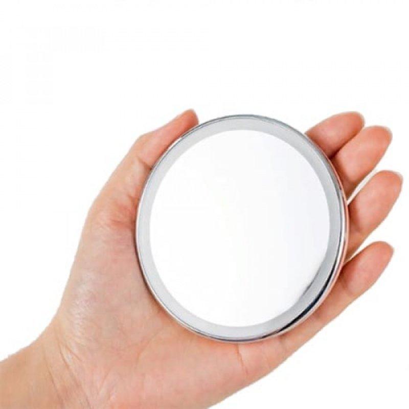 Карманное зеркало для макияжа Xiaomi Jordan&Judy Led Lighted Travel Makeup Mirror NV030 Серебро