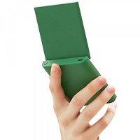 Карманное зеркало для макияжа Xiaomi VH Portable Beauty Mirror M01 Зеленое
