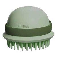 Антистатическая массажная расческа Kribee Electric Massage Comb (EP1164-3C) Зеленый