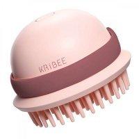 Антистатическая массажная расческа Kribee Electric Massage Comb (EP1164-3C) Розовый