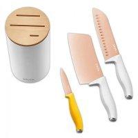 Набор ножей Xiaomi Solista Titanium Knife 4 Piece Set