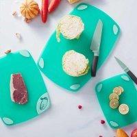 Разделочная доска Xiaomi Kalar Antibacterial Chopping Board Mint Green Large