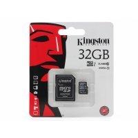 Карта памяти Kingston MicroSDHC 32GB с адаптером 32Gb
