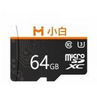 Карта памяти Micro SD карта Xiaomi Xiaobai Micro SD Memory Card 64G