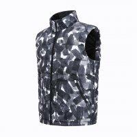Жилет Xiaomi Uleemark Ink Print Down Vest Ink Black XXL Милитари-Серый