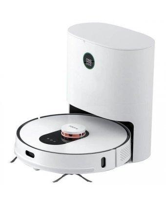 Робот-пылесос Roidmi EVE Plus Robot Vacuum and Mop Cleaner with Cleaning Base (SDJ01RM) EU Белый