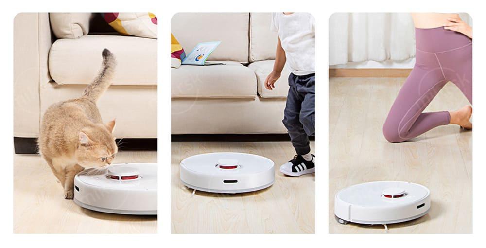 Робот-пылесос Xiaomi TROUVER Robot LDS Vacuum-Mop Finder