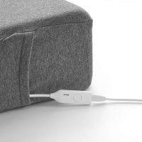 Умная подушка с подогревом Xiaomi PMA Graphene Neck PIllow (U10) Серый