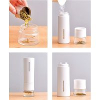 Заварочный термос Pinztea Tea Water Separation 300ml (PZ7X59X000) Белый