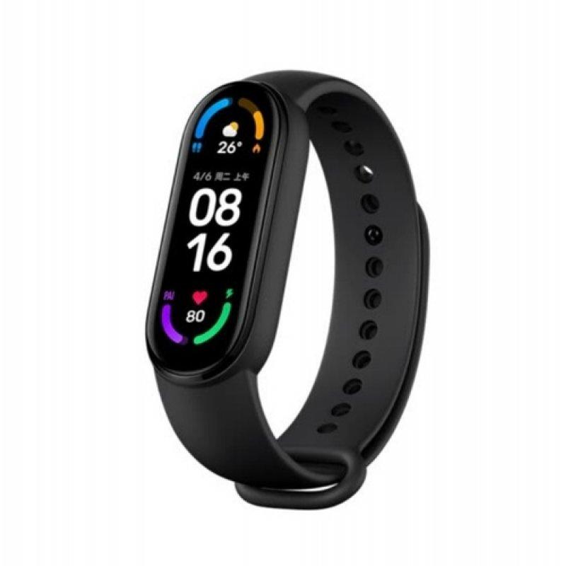 Фитнес браслет Xiaomi Mi Smart Band 6 (Русская версия) Черный