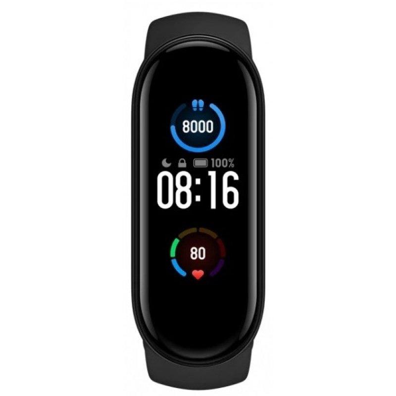 Фитнес браслет Xiaomi Mi Smart Band 5 (Русская версия) Черный