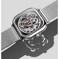 Часы Xiaomi CIGA Desing Full Hollow Mechanical Body Deep Серебро