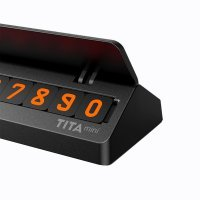 Парковочная карта TITA MINI bcase (номер телефона) Черный