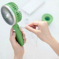 Портативный ручной вентилятор Guildford Retro Small Fan GFSFA7 Зеленый