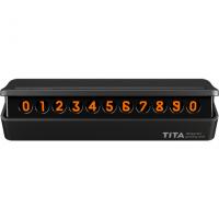 Парковочная карта TITA Bcase (номер телефона) Черный