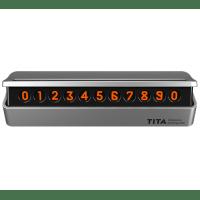 Парковочная карта TITA Bcase (номер телефона) Серый